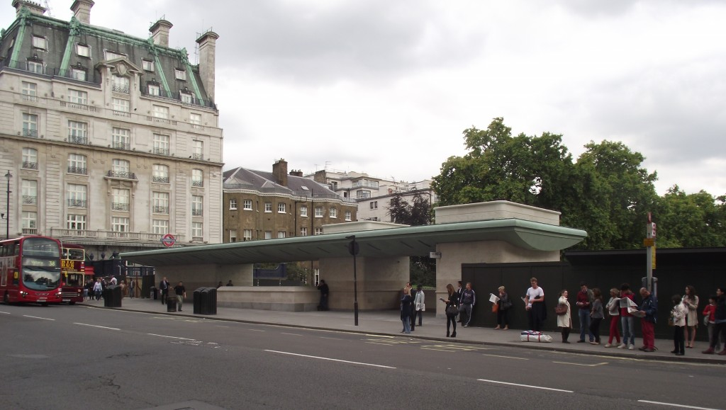 New Green Park Bus Station shelter